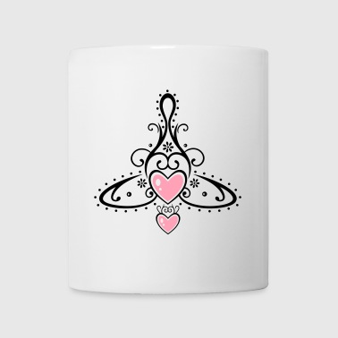 Celtic symbol, mother with two children. - Coffee/Tea Mug