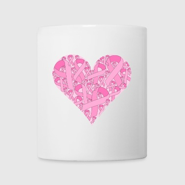 Pink Ribbon Heart - Coffee/Tea Mug