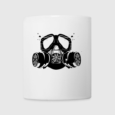 gas mask - Coffee/Tea Mug