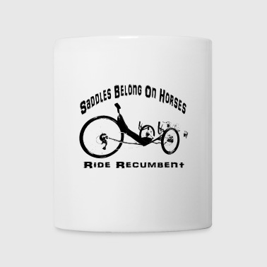 Saddles (black) - Coffee/Tea Mug