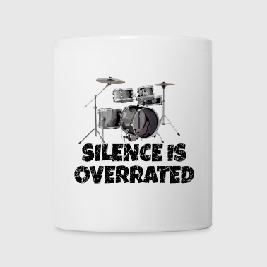 Drummer Silence is overrated - Drums Design - Coffee/Tea Mug