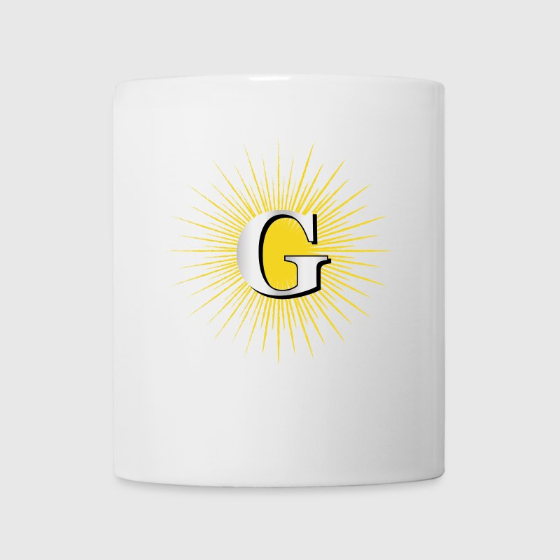 Letter G – masonic symbol - Coffee/Tea Mug