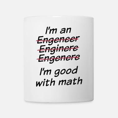 Funny I'm good with math - Coffee/Tea Mug