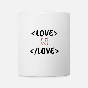 Cute geeky html design Two-Tone Mug | Spreadshirt on cute business, cute humor, cute health, cute portfolio, cute weather,