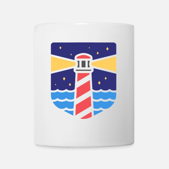 Lighthouse Mugs & Drinkware - lighthouse - Mug white