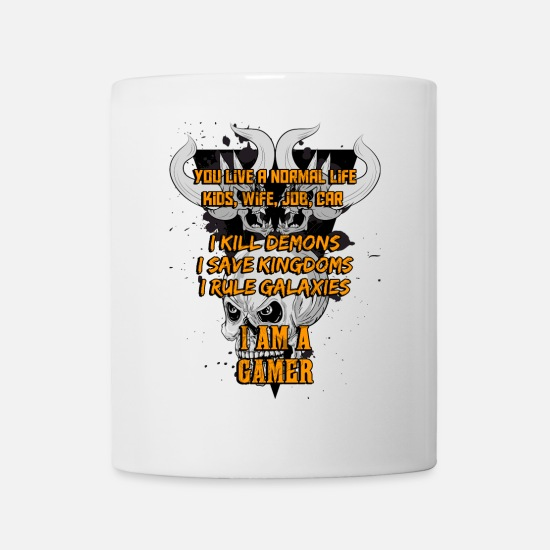 Funny Mugs & Drinkware - I am a gamer - Mug white