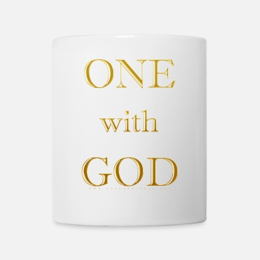 God One with God - A Course in Miracles - Down - Coffee/Tea Mug