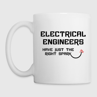 Electrical Engineer Right Spark - Coffee/Tea Mug
