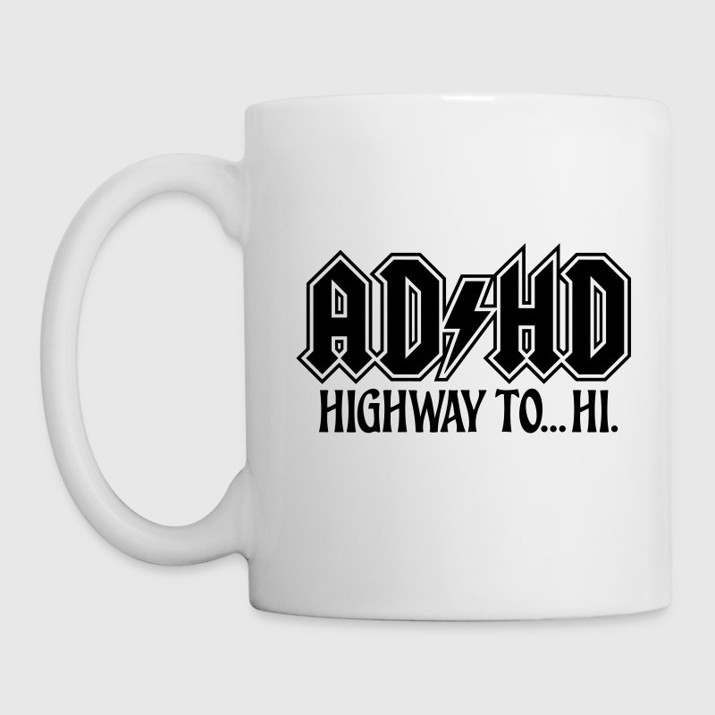 ADHD ACDC Highway to Hi. ADHD humor - Coffee/Tea Mug