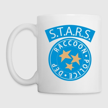Resident Evil Stars White T-Shirt - Coffee/Tea Mug