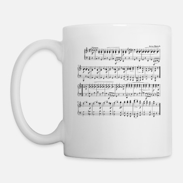 Sheet music sheet - Coffee/Tea Mug