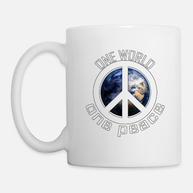 World One World, One Peace - Coffee/Tea Mug