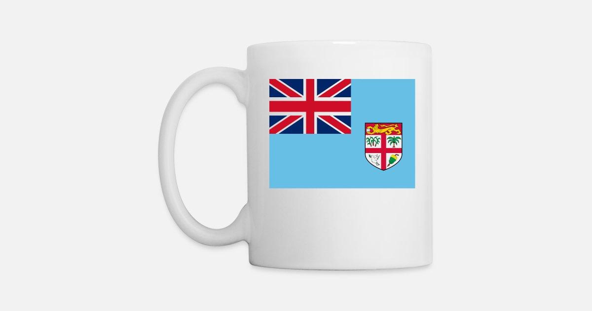 Fiji Flag Mug Spreadshirt