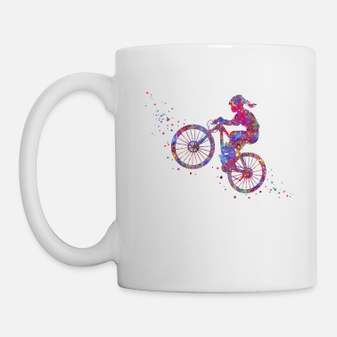 Mountain Bike Mountain biking, mountain bike, sport - Coffee/Tea Mug