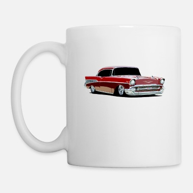 Chevy 1957 Chevy Bel Air - stylized (color) - Mug