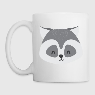 Ronnie Ronny Raccoon - Coffee/Tea Mug