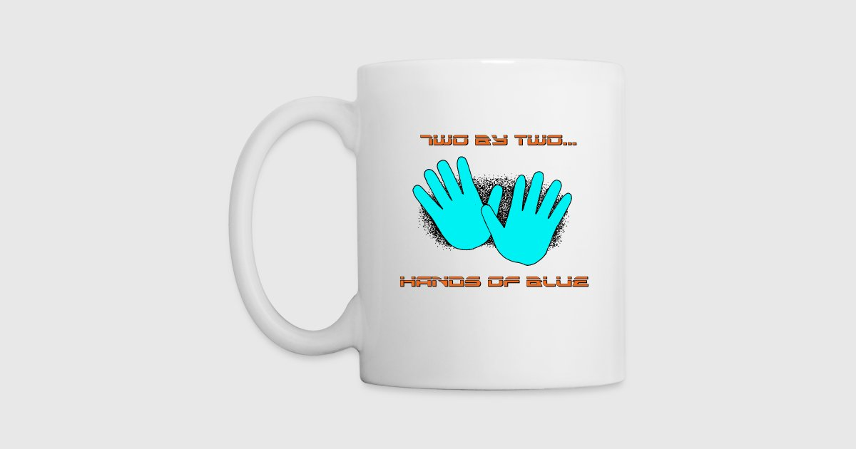 Two By Two Hands Of Blue By 5i1ent 3ob Spreadshirt