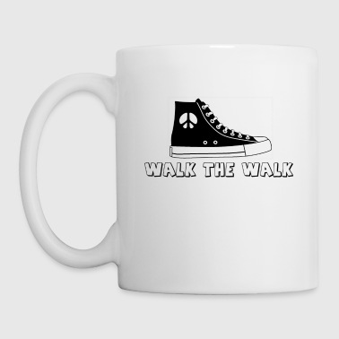 Walking WALK THE WALK - Coffee/Tea Mug
