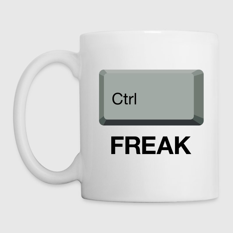 Control Freak T-shirt - Coffee/Tea Mug