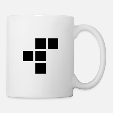 Plain R-pentomino-plain-1 - Coffee/Tea Mug