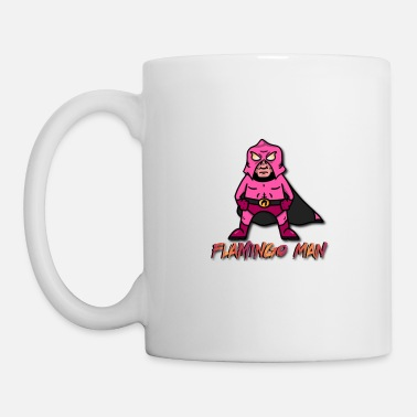 Man Flamingo Man - Mug