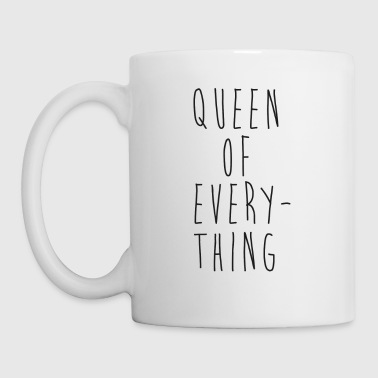 Queen Of Everything Funny Couples - Coffee/Tea Mug