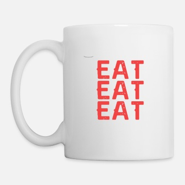 Eating Eat Eat Eat Repeat - Mug