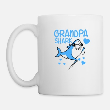 Grandpa shark gift - Coffee/Tea Mug