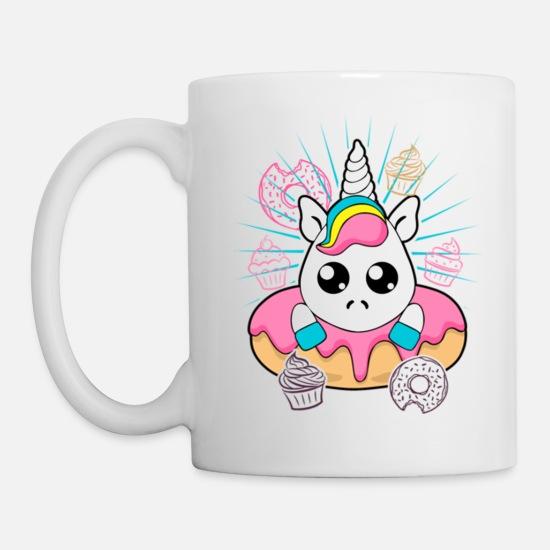 967ab2ed72d Super Cute Kawaii Unicorn Donuts Cupcake Squishy Mug   Spreadshirt