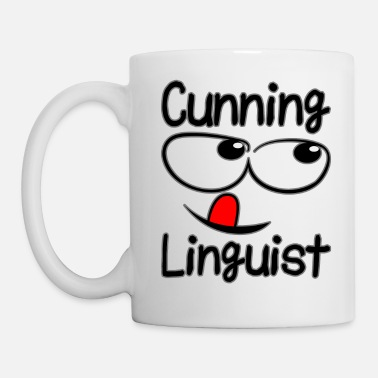 Linguistics cunning linguist - Coffee/Tea Mug