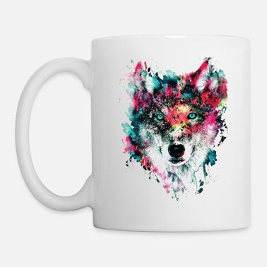 Wolf Wolf Face - Coffee/Tea Mug