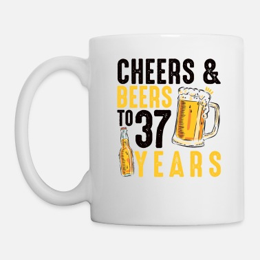 Funny 37th Birthday Gifts Drinking Shirt for Men or - Mug