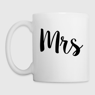 Mrs & Mr Valentine's Day Wedding Couples Gift - Coffee/Tea Mug