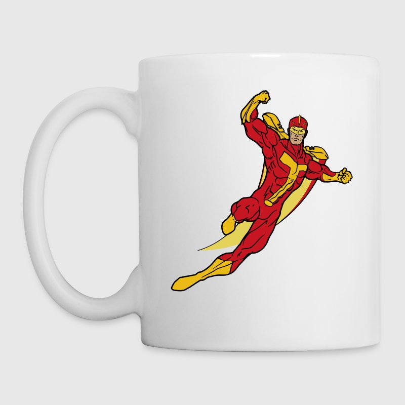 Turbo Man - Coffee/Tea Mug