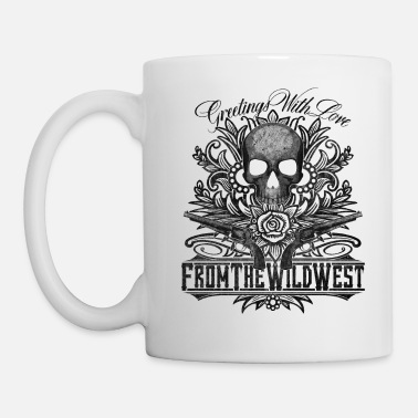 Hard Rock Wild West Skull & Guns - Coffee/Tea Mug
