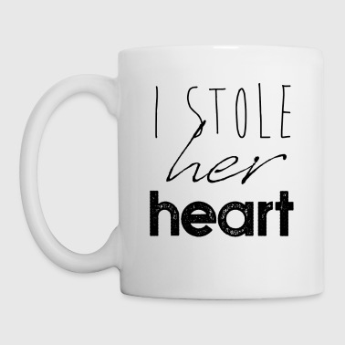 I Stole Her Heart Wedding Valentine's Day Gift - Coffee/Tea Mug