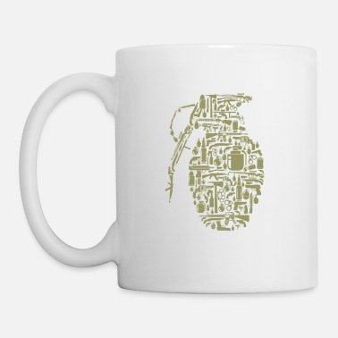 Hand Grenade Grenade - Coffee/Tea Mug