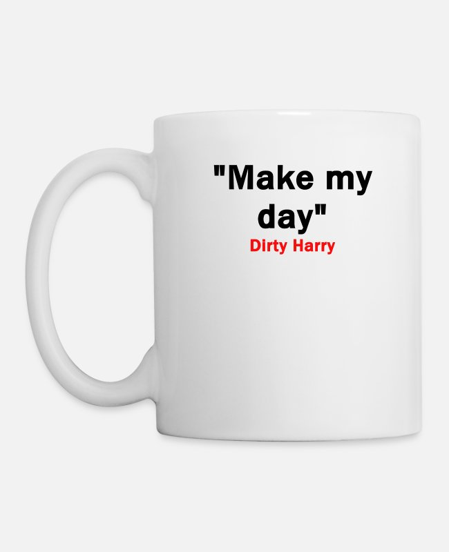 Laughter Therapy Mugs & Cups - Make my day - Mug white