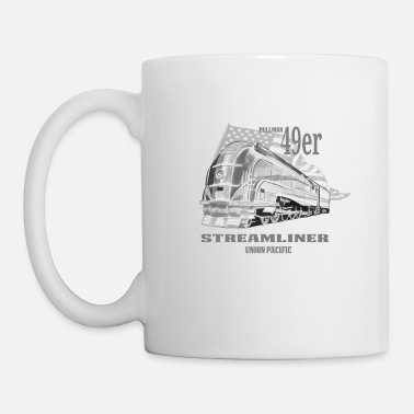 49ers Pullman 49er streamliner railway engine - Coffee/Tea Mug