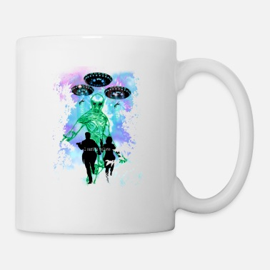 Space X The X-Files Alien Invasion - Mug