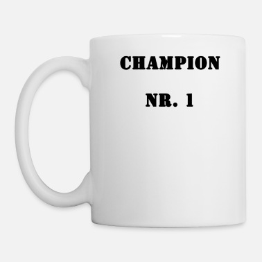 European Champion Champion No. 1 - Mug