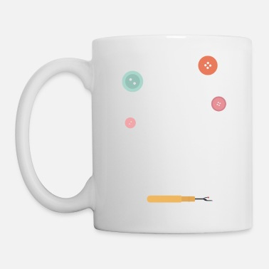 Thread needle and thread - Mug