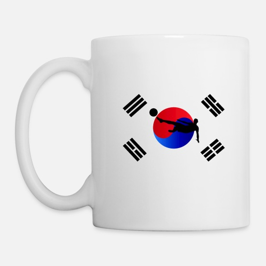 Korea Mugs & Drinkware - Korea - Mug white
