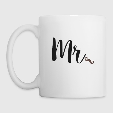 Matching Mr & Mrs Valentine's Day Gift  - Coffee/Tea Mug