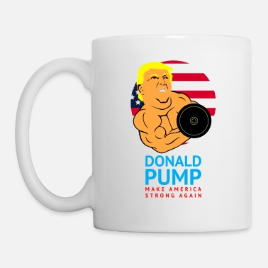 Donald Pump Funny Gym - Mug