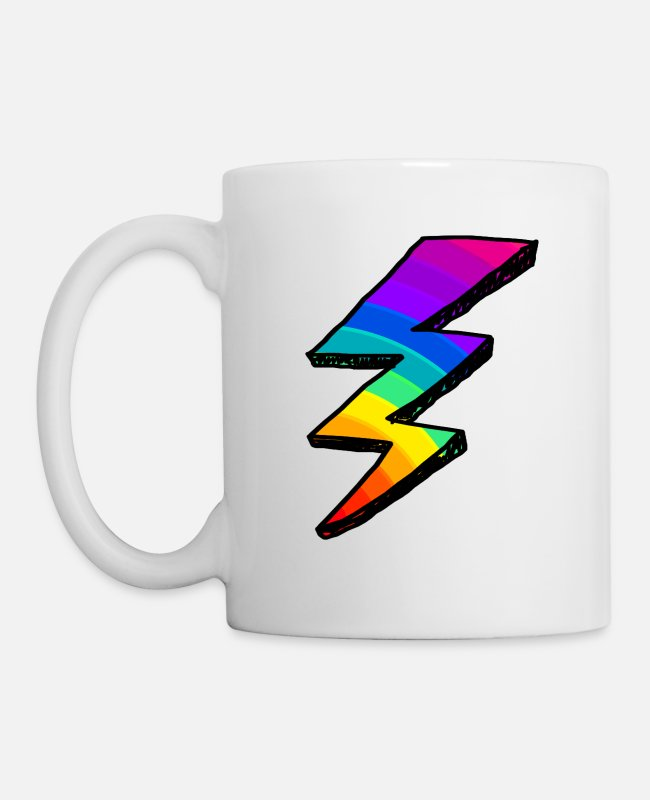 Electricity Mugs & Cups - Colors - Mug white