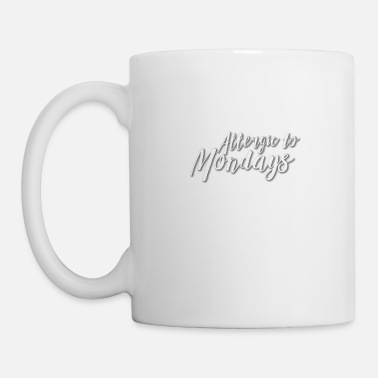 God allergic to mondays - Mug