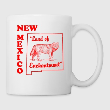 new mexico vintage design - Coffee/Tea Mug