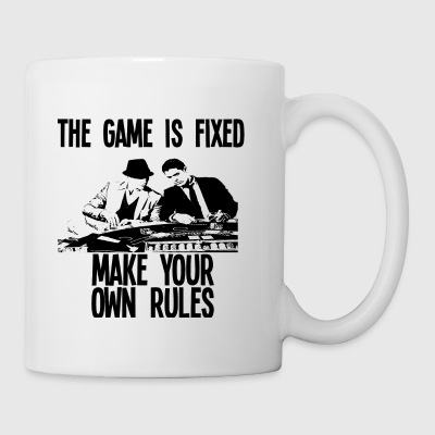THE GAME IS FIXED design - Coffee/Tea Mug