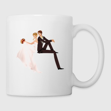 cute couple wedding - Coffee/Tea Mug